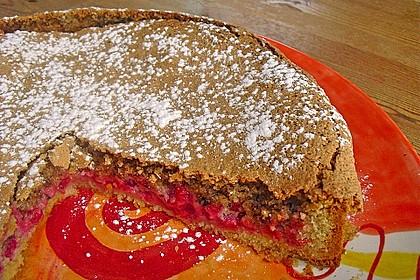 Rhabarber- oder Träubleskuchen mit Haselnussbaiser nach Großmutters Art 7
