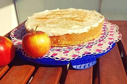 Apfelkuchen mit Sahne - Zimt - Haube 2