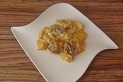Frikadellen - Kartoffel - Auflauf 3