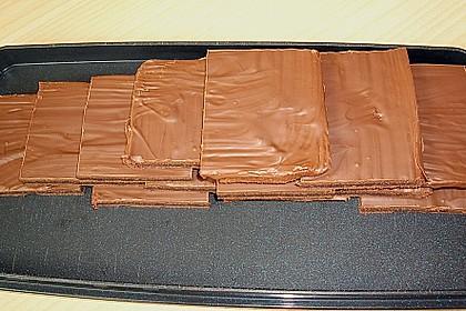Einfacher Schokoladenkuchen vom Blech