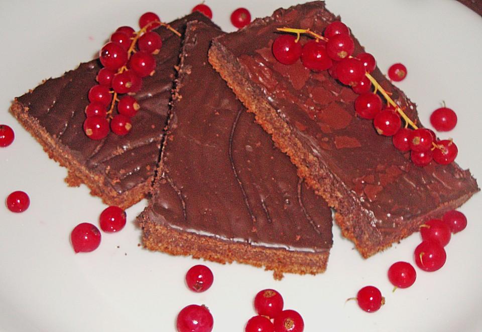 Einfacher Schokoladenkuchen Vom Blech Von Heike50374 Chefkoch De