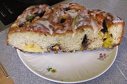 Ananas - Rosenkuchen