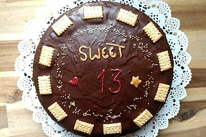 Chocolate Truffle Cake 1