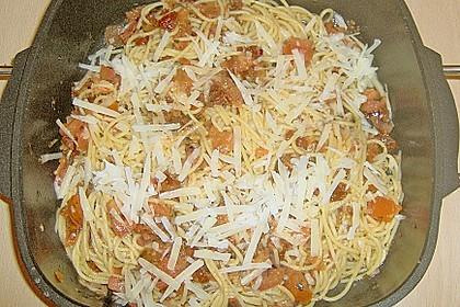 Spaghetti mit getrockneten Tomaten 40