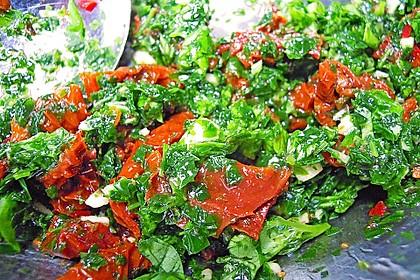 Spaghetti mit getrockneten Tomaten 42