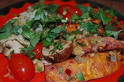 Rotbarsch mit Süßkartoffeln 3