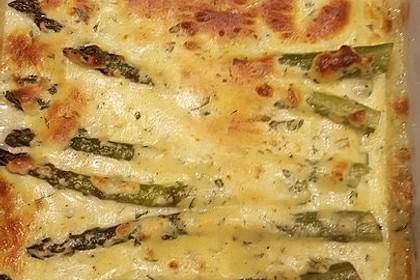 Albertos grüner Spargel mit Parmesancreme 36