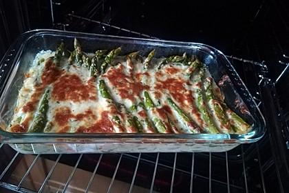 Albertos grüner Spargel mit Parmesancreme 24