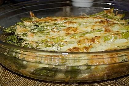 Albertos grüner Spargel mit Parmesancreme 32