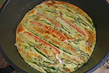 Albertos grüner Spargel mit Parmesancreme 16