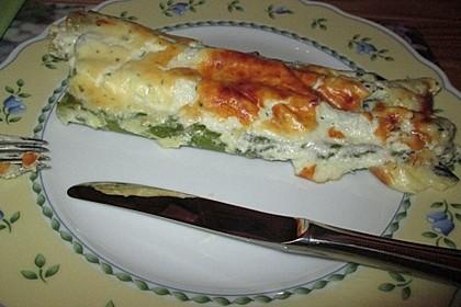 Albertos grüner Spargel mit Parmesancreme 65