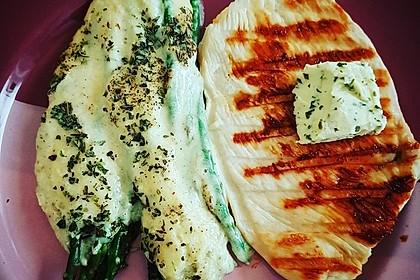 Albertos grüner Spargel mit Parmesancreme 19