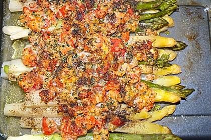 Albertos grüner Spargel mit Parmesancreme 22