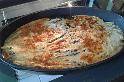 Albertos grüner Spargel mit Parmesancreme 56