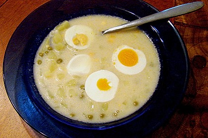 Kartoffel - Eier - Suppe 8