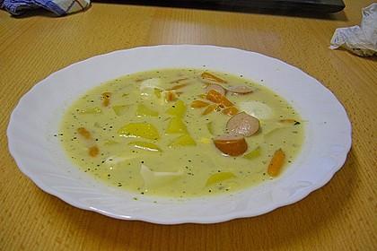 Kartoffel - Eier - Suppe 7