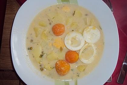 Kartoffel - Eier - Suppe 9