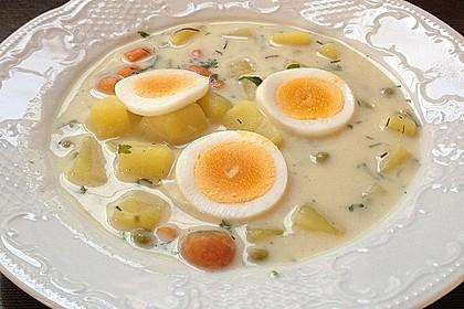 Kartoffel - Eier - Suppe
