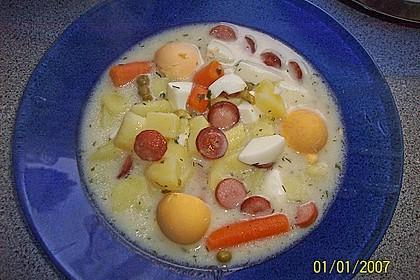 Kartoffel - Eier - Suppe 10