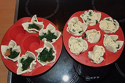 Spinat - Lachs - Muffins 18