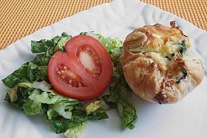 Spinat - Lachs - Muffins 9