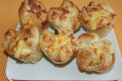Spinat - Lachs - Muffins 7
