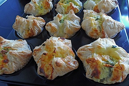 Spinat - Lachs - Muffins 17