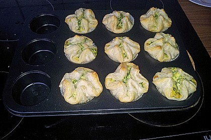 Spinat - Lachs - Muffins 25