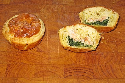 Spinat - Lachs - Muffins 8