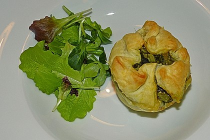 Spinat - Lachs - Muffins 3