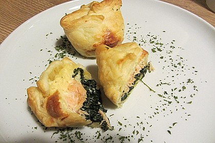 Spinat - Lachs - Muffins 1