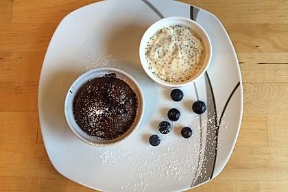Marzipan - Parfait mit Himbeersauce 9