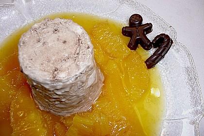 Lebkuchenparfait mit Gewürzorangen 26