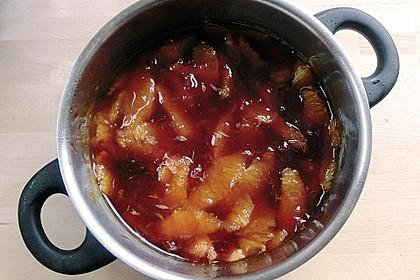 Lebkuchenparfait mit Gewürzorangen 50