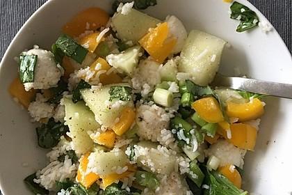 Italienischer Reis - Melonen - Salat 14
