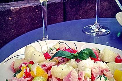 Italienischer Reis - Melonen - Salat 11
