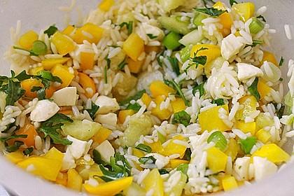 Italienischer Reis - Melonen - Salat 8