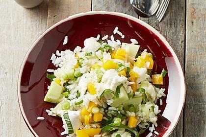 Italienischer Reis - Melonen - Salat
