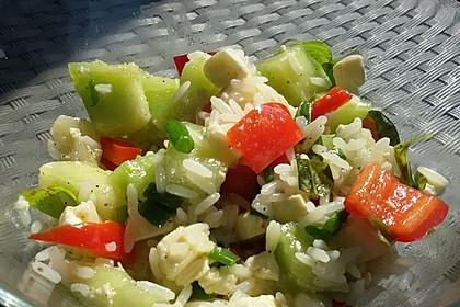 Italienischer Reis - Melonen - Salat 4