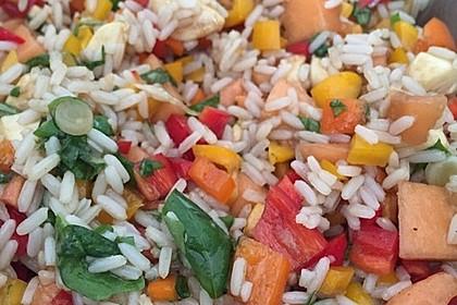 Italienischer Reis - Melonen - Salat 12