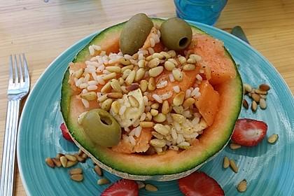 Italienischer Reis - Melonen - Salat 2