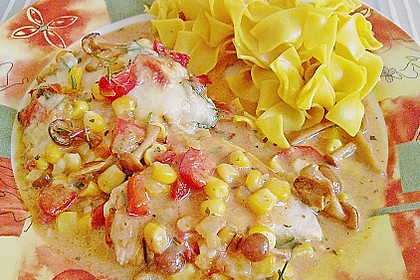 Überbackene Putenschnitzel à la Silke