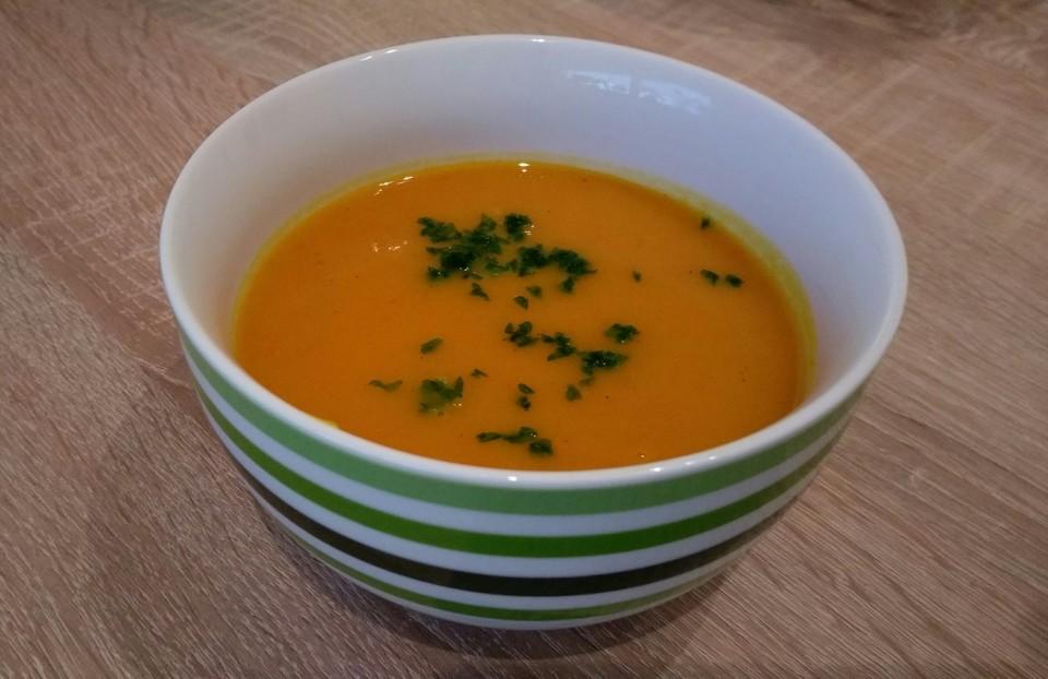 Kürbis-Möhren-Suppe von StadtLandHund | Chefkoch