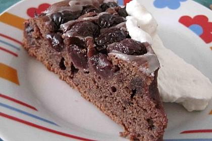 Kirsch - Schoko - Kuchen 1