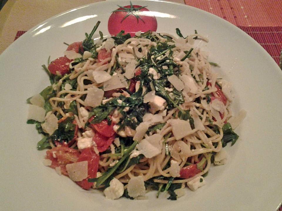 Jamies Sommerküche : Mykonos spaghetti von luthie chefkoch