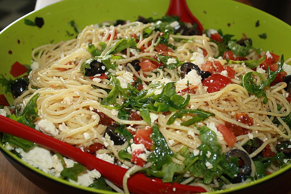 Sommerküche Chefkoch : Mykonos spaghetti von luthie chefkoch