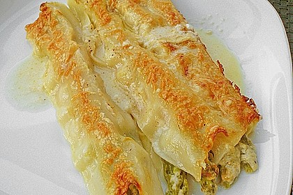 Spargel im Lasagneblatt 4