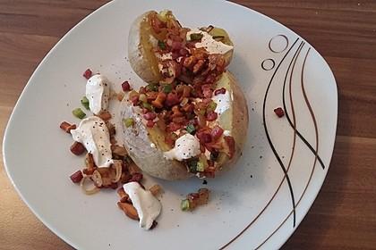 Ofenkartoffeln mit Pfifferlingen 16