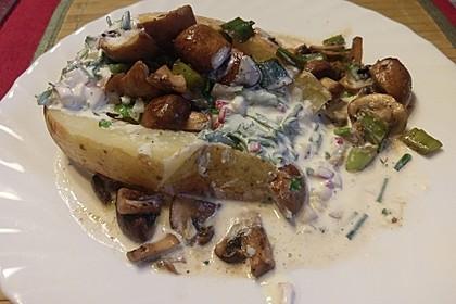 Ofenkartoffeln mit Pfifferlingen 21