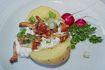 Ofenkartoffeln mit Pfifferlingen 13